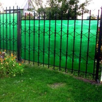 Забор из поликарбонатных листов