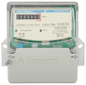 Электросчетчик Энергомера (ЦЭ 6803 В)