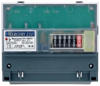 Электросчетчик INCOTEX Меркурий (231 АМ-01 5(60))