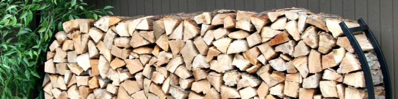 Хранение дров, дровница своими руками
