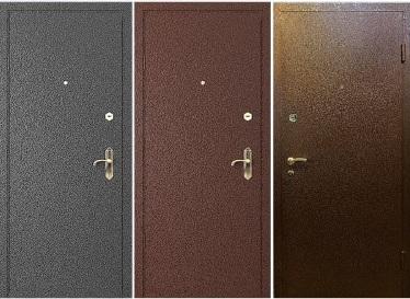 Наружное полотно входной двери
